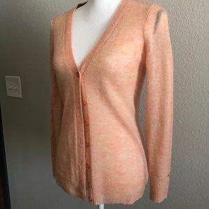 MAISON JULES  Pink Long Sleeve V Neck Sweater 💖